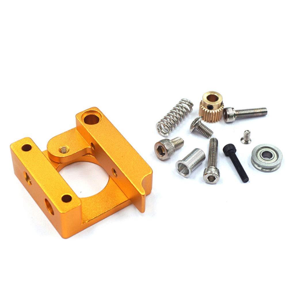 Ndier Extruder Bracket MK8 Antrieb Feed 3D Drucker Extrudern Zubehö r fü r Creality 4D |Rechte Hand Homeproduct