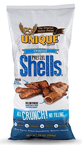 Unique Pretzels Original Pretzel Shells, 10-Ounce, 12 Bags