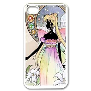 Sailor Moon Phone Case And One Free Tempered-Glass Screen Protector For iPhone 4,4S T137929