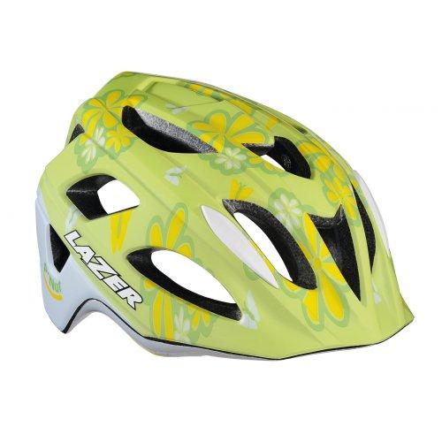 Lazer-P-Nut-Child-Helmet-Child-cycle-helmet-Children-flower-grn-green