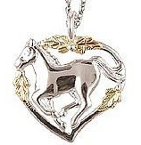 Black Hills Gold Silver Horse ()