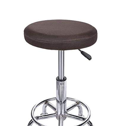 Groovy Amazon Com Olywell 13 Round Bar Stool Cover Breathable Machost Co Dining Chair Design Ideas Machostcouk