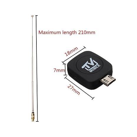 Uemaker DVB-T - Llave USB Receptor y grabadora sintonizador TDT HD ...