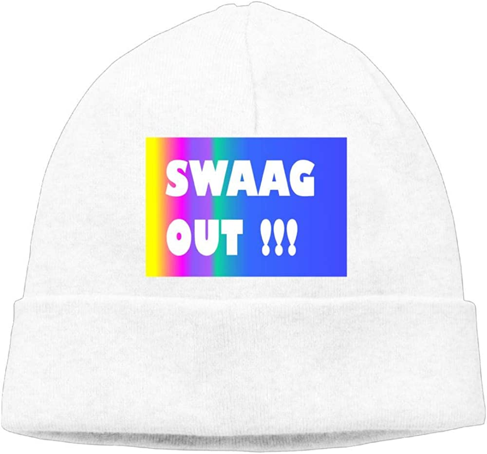 Aiw Wfdnn Beanie Hat Swaag Out!! Snapback Knit Cap for Mens