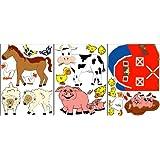 Farm Animal Wall Decals / Stickers