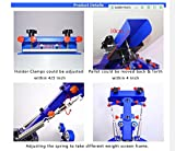 Double Rotary Manual 6-6 Colors Silk Screen