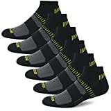 BERING Men's Athletic Low Cut Running Socks(6 Pack)