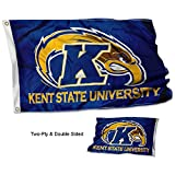 Cheap College Flags and Banners Co. Kent State Golden Flashes Double Sided Flag