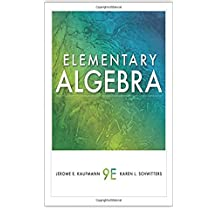 Elementary Algebra (Available 2011 Titles Enhanced Web Assign)
