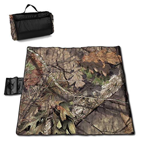TARDIGA Realtree Mossy Oak Camo Folding Portable Picnic Blanket 57