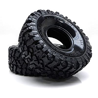 Pit Bull RC Radio PB9002NK 2.2 Rock Beast II Scale Crawler Tire with Kompound: Toys & Games