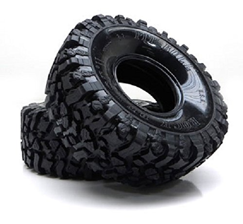 Pit Bull RC Radio PB9002NK 2.2 Rock Beast II Scale Crawler Tire with Kompound (Rc Pit Bull Tires)