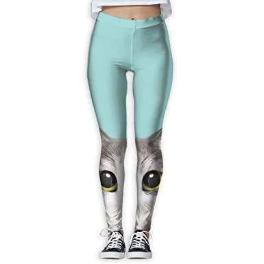 Mint Color Cat Printing Compression Leggings Pants Tights for Women S-XL at  Amazon Women s Clothing store  821b63cfe