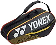 YONEX 42026 (Black/Yellow)(6-Pack) Badminton Tennis Racket Bag