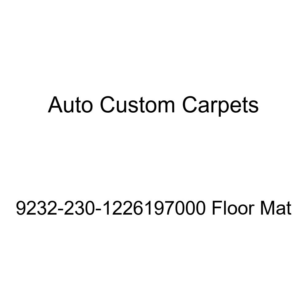 Interior Accessories Auto Custom Carpets 9232-230-1226197000 Floor Mat