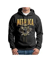 Heavy Metal Metallica Men Pullover Black Hoodies Sweatshirts