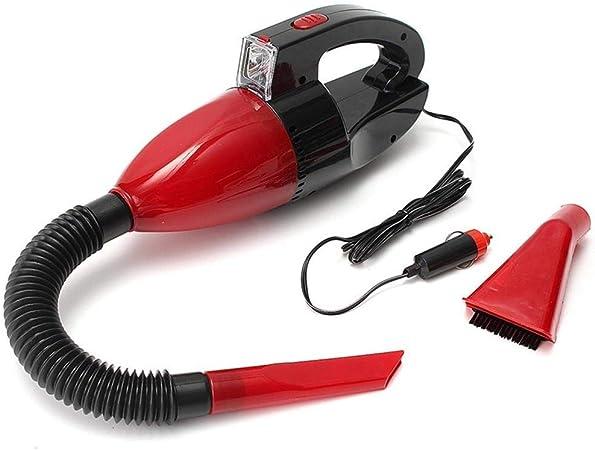 XDXDWEWERT Limpiador de casa Aspirador de Coche Portátil de Mano Potente Mojado Seco, de Doble Uso, 60 W 12 V Auto Interior Partes Herramientas de Limpieza Aspiradoras de Mano: Amazon.es: Hogar