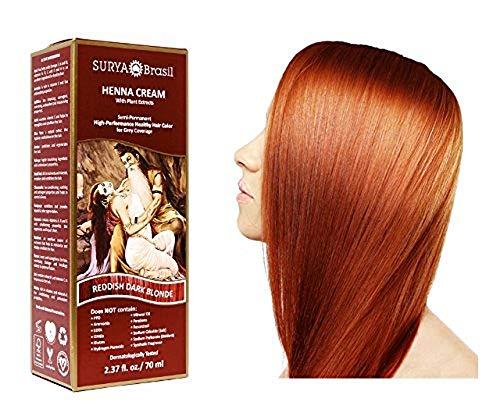 Surya Henna Brasil Cream Reddish Dark Blonde - 2.31 fl oz