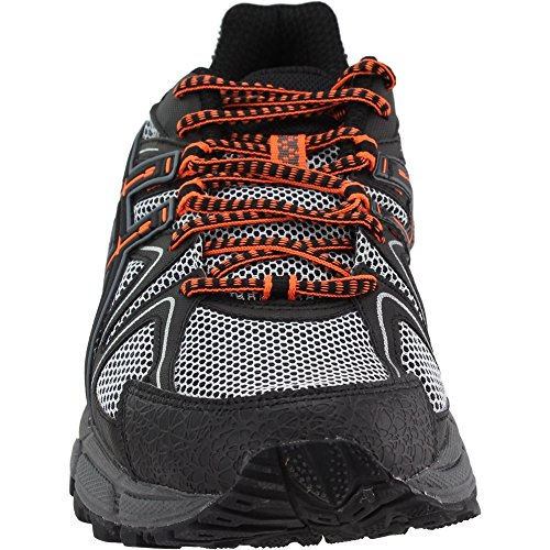 ASICS Mens Gel-Kahana 8 Running Shoe Black/Hot Orange/Carbon 7 Medium US by ASICS (Image #4)