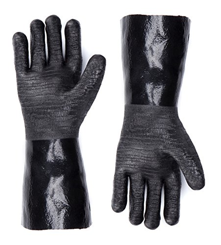 rubber bbq gloves - 8