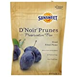 Sunsweet D'Noir Prunes 8 oz (Pack of 4)