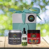 My-Organic-Zone Skin-Care-Gift-Package, Includes 3-Organic-Products for Deep-Pore-Cleansing, Exfoliating, Moisturizing, Skin-Soothing, Acne-Treatment, Reduce-Cellulite