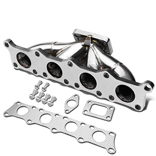 Avant Quattro Exhaust Turbo (DNA Motoring TM-AUDI-18L-T25 Stainless Steel T25 Turbo Manifold)