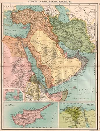 MIDDLE EAST Turkey in Asia PersiaIranArabia Cyprus Nile