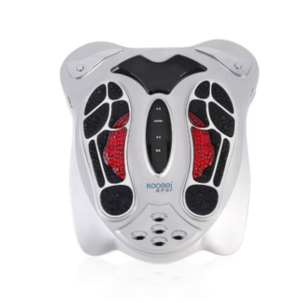 調整可能 電気足のマッサージャーの低頻度の脈拍のマッサージ99種類のマッサージの強さ50の方法足の痛みを和らげるために深いひざまずくマッサージする方法 リラックス, White B07TSJMZ68