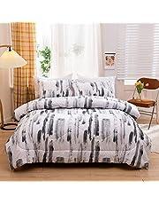 "Kids Bedding Soft Dinosaur Comforter Set Twin Size 68"" x 86"" Dinosaur Prints Bed Set Boys Comforter with 2 Pillowcases Jurassic World Bedding Comforter Microfiber Fabric¡"