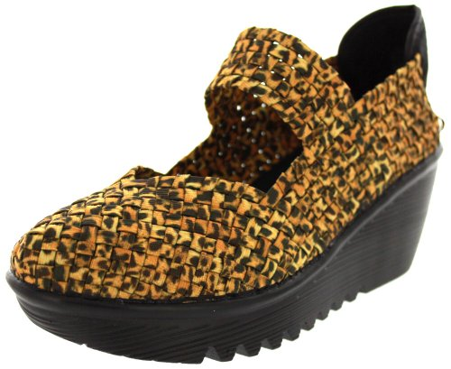 Bernie Mev Frauen Lulia Keilpumpe Leopard