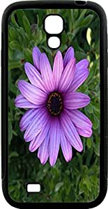 Blueberry Design Galaxy S4 Case purple Leaves Flowers - Ideal Gift