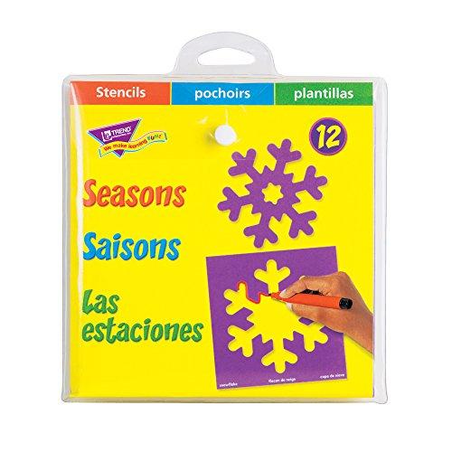 Trend Enterprises Seasons Stencils