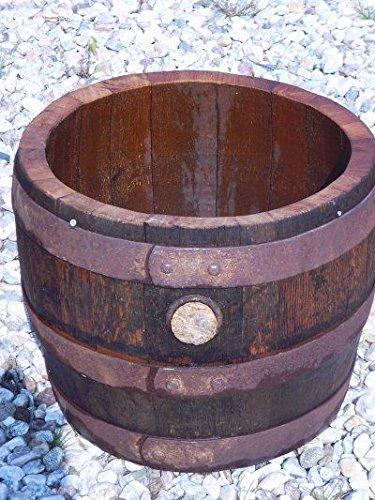 JUNIT 40Liter rundes Bierfass-Abschnitt gebrauchte aus Eichenfass