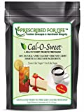Cal-O-Sweet (TM) - NO-Aftertaste All Natural Zero Calorie & Carb Sugar-Free Sweetener & Pre-Biotic Fiber, 50 lb