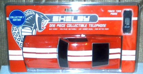 (COLLECTOR'S EDITION. Shelby G.T. 500 One Piece Collectable Phone / Telephone)