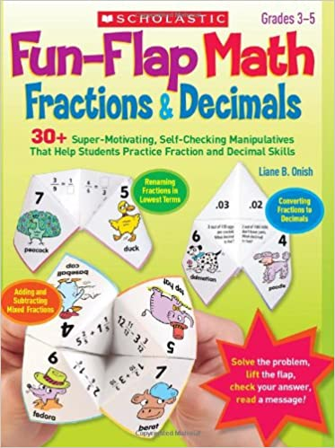 Amazon.com: Fun-Flap Math: Fractions & Decimals: 30+ Super ...