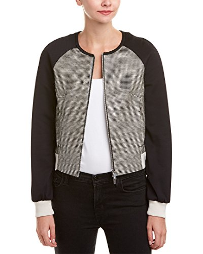 Karen Millen Womens Graphic Geo Tweed Jacket, US 6/UK 10, - Karen Uk Millen