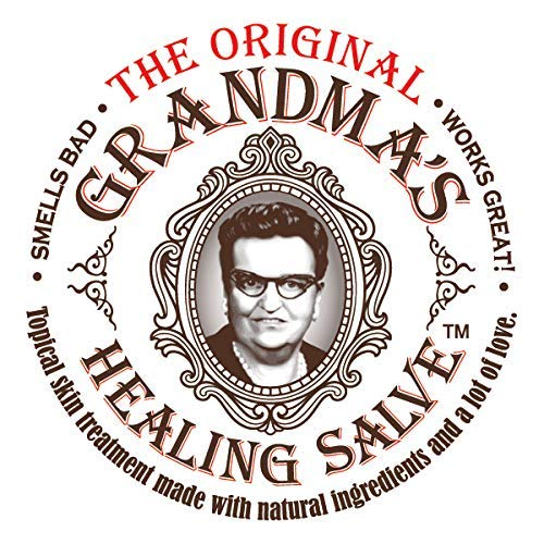 Grandma's Healing Salve an Old Fashioned Black Drawing Salve or Ointment,Customers reflect it may help with Cuts, Burns, Boils, Ingrown nails, Warts, Wounds, Infections, and MRSA. For people and Pets. (Best Ointment For Boils)