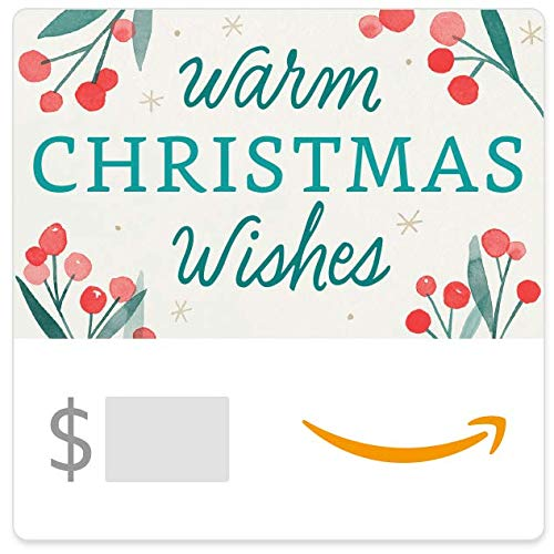 Amazon eGift Card - Warm Christmas Wishes (Christmas Card Wishes)