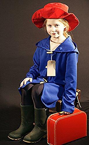 World Book Day-Film RAILWAY BEAR COAT, HAT & LABEL Children's Fancy Dress Costume - All Ages (TEEN)