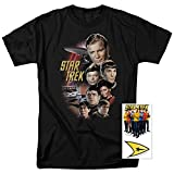 Star Trek Crew Classic TV Show T Shirt