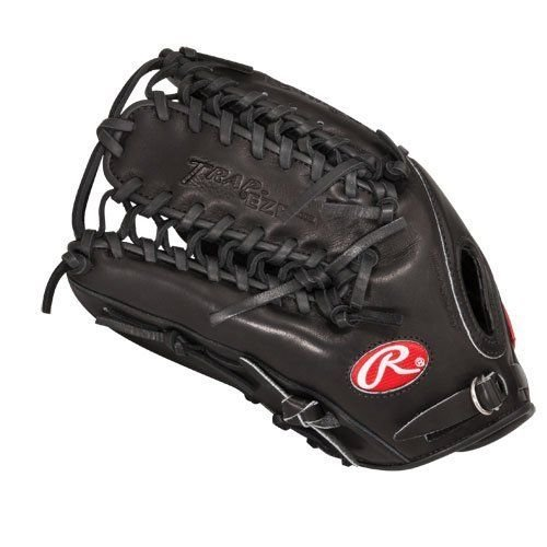 Rawlings Heart of The Hide Players Series Baseball Gloves, Black, 12.75