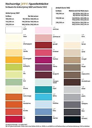Janine Jersey Nackenrollenbezug Einzeln 5007 15x40cm Farbe