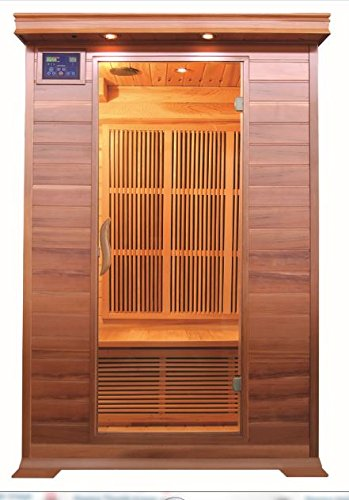 SunRay Cordova 2-Person Infrared Sauna by Sunray