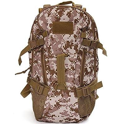 MD Group Backpack Rucksack Desert Digital Outdoor 40L Shoulder Bag Pack For Tourism Hiking Camping