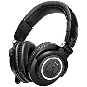 Amazon #LightningDeal 62% claimed: Audio-Technica ATH-M50x Professional Headphones