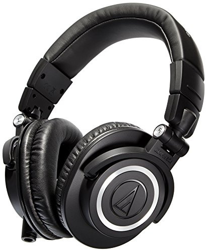 Amazon Lightning Deal 72% claimed: Audio-Technica ATH-M50x Professional Headphones