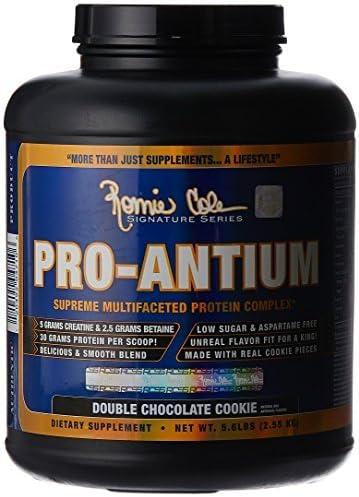 RCSS Pro-Antium Protein Eiweiß Proteinshake Eiweißshake Regeneration Muskelaufbau Bodybuilding (2150g Double Chocolate...