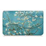 Business Card Holder/Credit Card Wallet, Fintie Premium PU Leather Handmade Universal Card Case Organizer with Magnetic Closure, Blossom